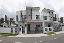 Brand New Corner Double Storey Semi Detached House @ Nusa Duta