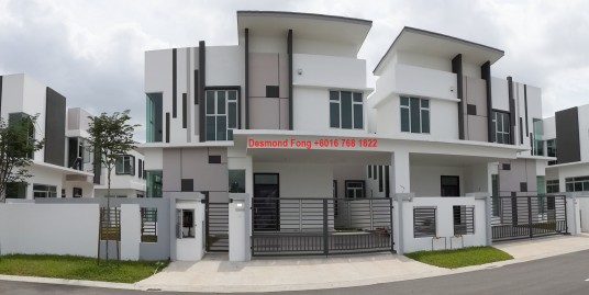 Brand New Corner Double Storey Semi Detached House @ Nusa Duta