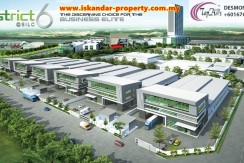 DISTRICT 6 DETACHED FACTORY WITH 3 STOREY OFFICE FOR RENT