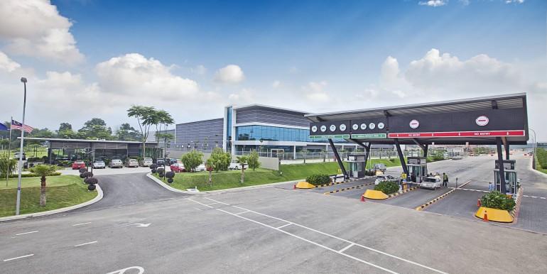 iPark@Indahpura Main Entrance
