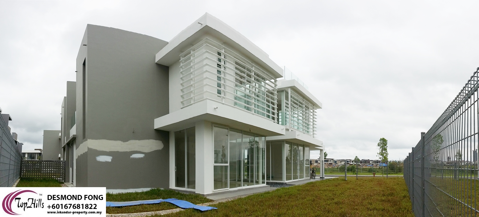 2 STOREY MODERN DESIGN CORNER SEMI DETACHED HOME