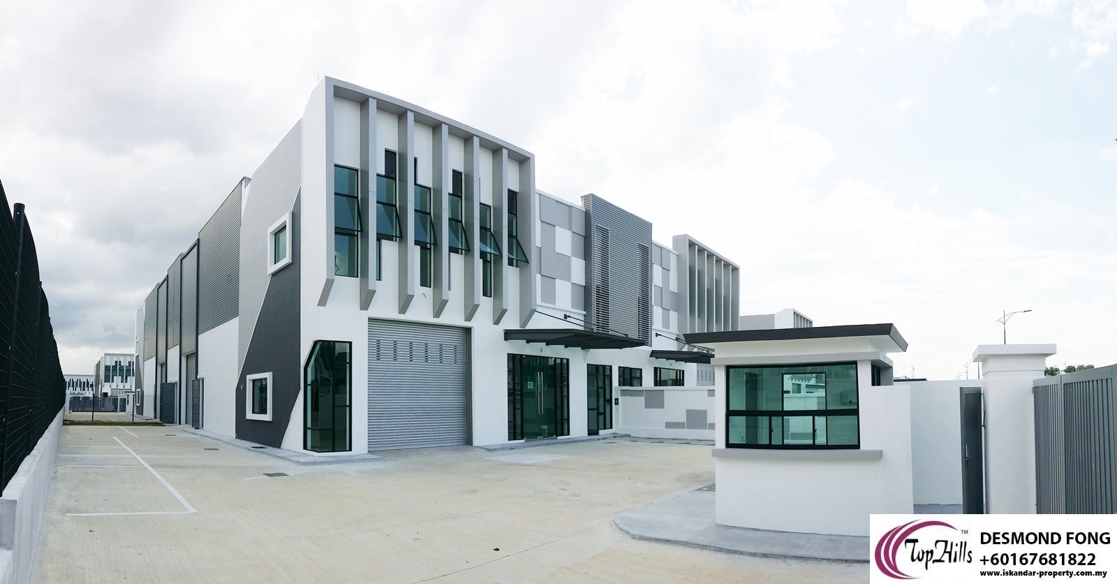 VALUE BUY NEW ECO BUSINESS PARK 1 CLUSTER FACTORY