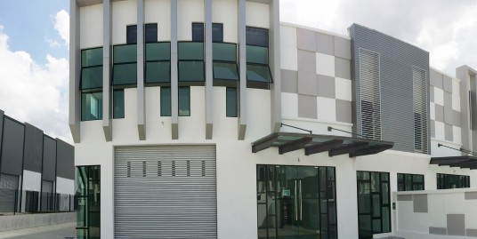 BRAND NEW CLUSTER FACTORY@ECO BUSINESS PARK 1 FOR RENT