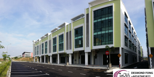 BRAND NEW 3 STOREY SHOP OFFICE@TIONGNAM BUSINESS PARK SILC 5