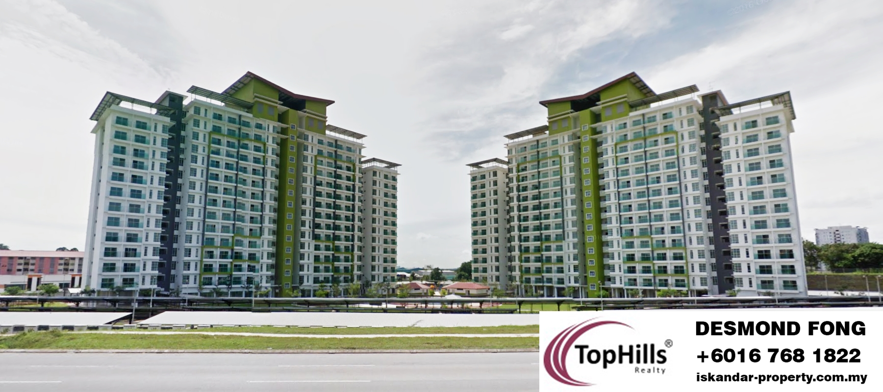 TWIN RESIDENCES APARTMENT@TAMPOI FOR SALE