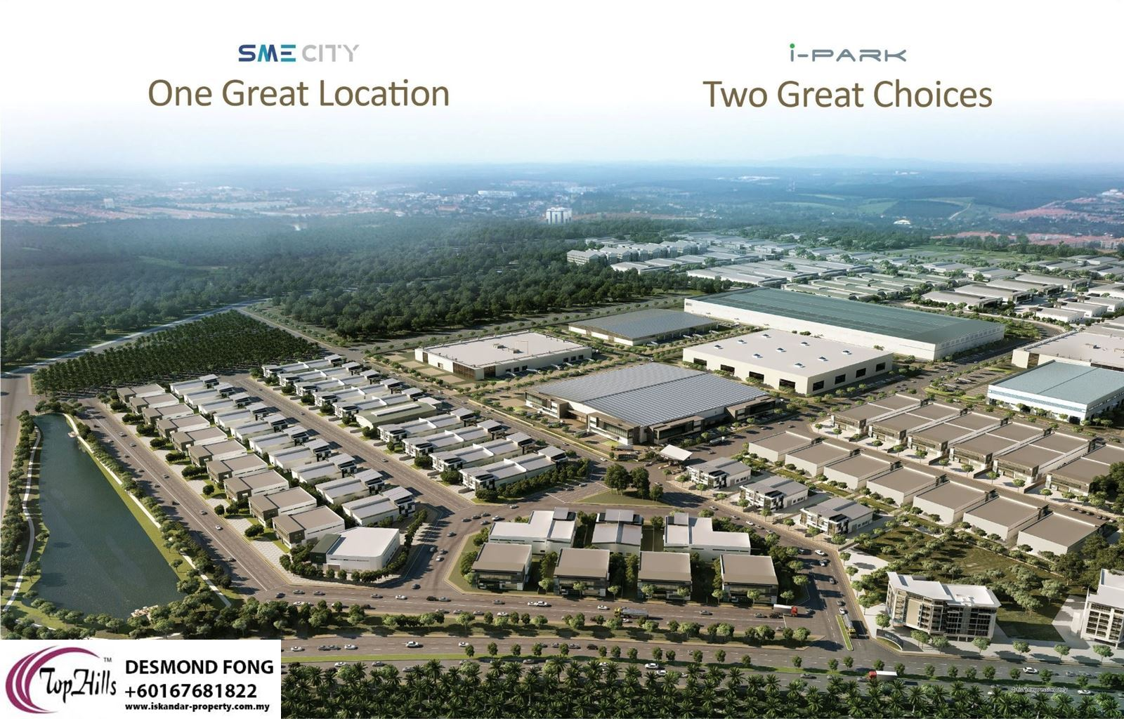 BRAND NEW CLUSTER FACTORY AT SME CITY@IPARK INDAHPURA FOR SALE