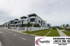 BRAND NEW END LOT CLUSTER HOMES(D'BRACHE)@BUKIT INDAH FOR SALE