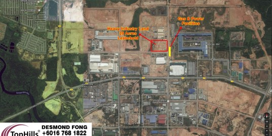 20 Acres Heavy Industry Land At Tanjung Langsat Pasir Gudang For Sale