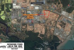35 Acres Heavy Industry Land At Tanjung Langsat Pasir Gudang For Sale